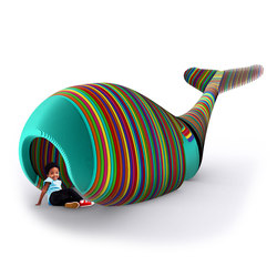 Wally The Whale | Muebles para jugar | Yellow Goat Design