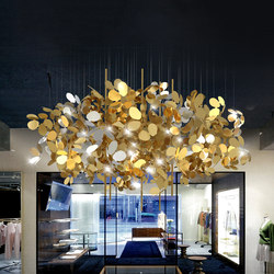 Arboreal | Suspended lights | Yellow Goat Design