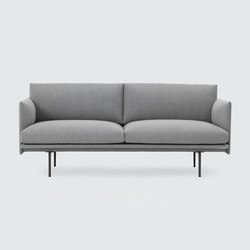 Outline Sofa | 2-seater | Canapés d'attente | Muuto