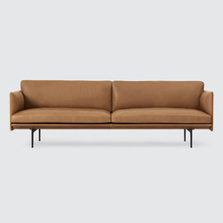 Outline Sofa | 3-seater | Canapés d'attente | Muuto