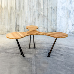 Trebol table | Standing desks | QoWood
