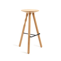 Luco | beech stool 75 | Bar stools | Mobles 114