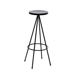 Nuta | black stool 75 | Bar stools | Mobles 114