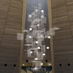 Cathedral | Suspended lights | Yellow Goat Design