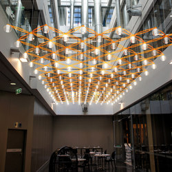 Cirrus Dreamers | Suspended ceilings | Yellow Goat Design