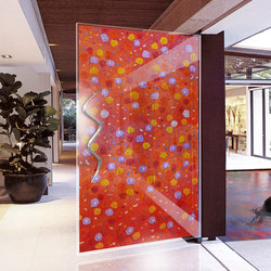Four Seasons | Glass room doors | Yellow Goat Design