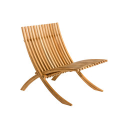 Nozib cut lounge chair | Fauteuils de jardin | Skargaarden
