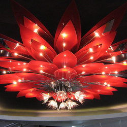 Lotus | Suspended lights | Yellow Goat Design
