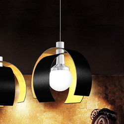 Scoop | Suspended lights | Yellow Goat Design