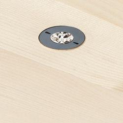 DOT 28 System in Holzdecken | Ceiling lights | GEORG BECHTER LICHT
