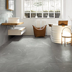 Contemporary stone grey anthracite tiles from cerim by for Carrelage 40x80