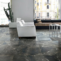 Timeless Black Deep Lucido | Carrelage pour sol | Cerim by Florim