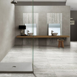 Travertino White Matte | Carrelage pour sol | Rex Ceramiche Artistiche by Florim