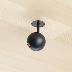 DOT 28 System in Holzdecken | Moving | Ceiling lights | GEORG BECHTER LICHT