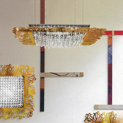 Zola | Suspended lights | Yellow Goat Design