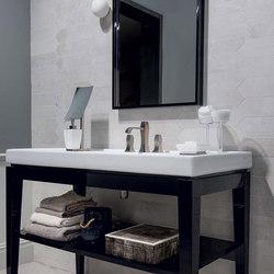 Visions Silver Soft Modulo Trapezio | Ceramic tiles | Rex Ceramiche Artistiche by Florim