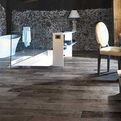 Visions Brown Wood | Ceramic panels | Rex Ceramiche Artistiche by Florim