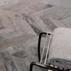 Visons Gray Wood Losanga | Floor tiles | Rex Ceramiche Artistiche by Florim