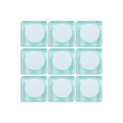 Aperture | f/22 Faint Aqua / Infinity | Mosaïques en verre | Interstyle Ceramic & Glass