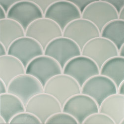 Large Fan | Ceramic tiles | Pratt & Larson Ceramics