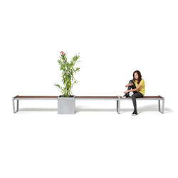 LXM1500-00018 Layout | Exterior benches | Maglin Site Furniture