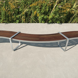 LXM1500-00017 Layout | Exterior benches | Maglin Site Furniture
