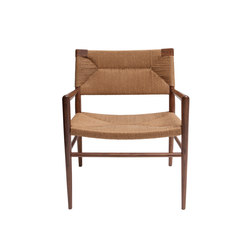 Woven Rush Lounge Chair | Sedie | Smilow Design