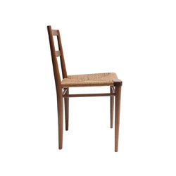 Woven Rush Seat Dining Chair | Restaurant chairs | Smilow Design