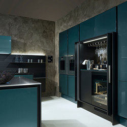 Chrome-Plated Lacquer | Fitted kitchens | Poggenpohl