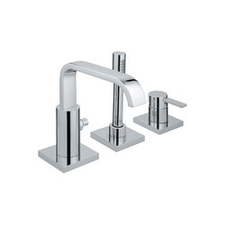 Allure Roman Tub Filler with Personal Hand Shower | Grifería para bañeras | Grohe USA