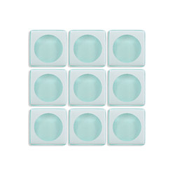 Aperture | f/1.4 Faint Aqua / Infinity | Glass mosaics | Interstyle Ceramic & Glass