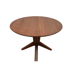 Pedestal Extension Dining Table | Dining tables | Smilow Design