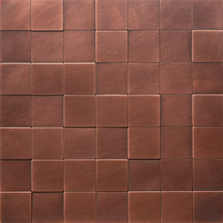 Square 50 délabré copper | Mosaïques | De Castelli