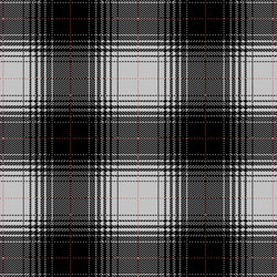 Glen Hi Land Tencel pure black, silver grey & ruby red | Tapis / Tapis design | kymo