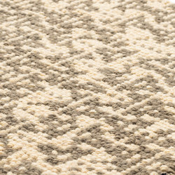 Blowin' Speaker taupe & natural white | Rugs / Designer rugs | kymo