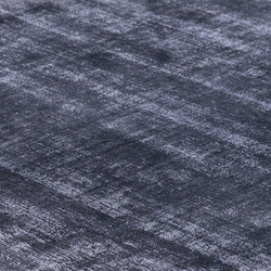 Mark 2 Viskose blue iron | Rugs / Designer rugs | kymo