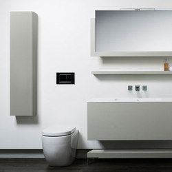 multi-series wall cabinet | Armadietti parete | Blu Bathworks