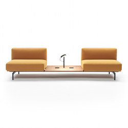 L-Sofa Composition | Waiting area benches | Giulio Marelli