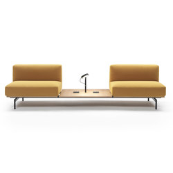 L-Sofa Composition | Waiting area benches | Marelli