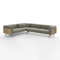 L-Sofa Corner Composition | Lounge sofas | Giulio Marelli