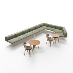 H-Sofa Corner Composition | Waiting area benches | Marelli
