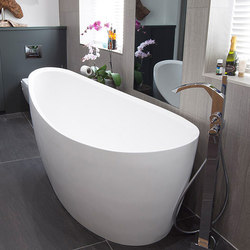 Rosebud Bathtub | Free-standing baths | Tyrrell and Laing International