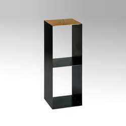 Charlie console with shelf | Mesas auxiliares | Lambert