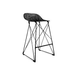 carbon bar stool low | Taburetes de bar | moooi
