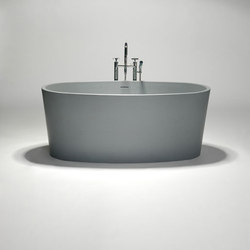 coco | blu•stone™ freestanding oval bathtub | Bathtubs | Blu Bathworks