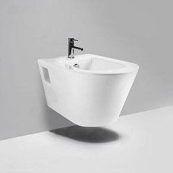 coco | single hole wall hung bidet | Bidés | Blu Bathworks