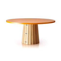 Container Table Bodhi With Linoak Top | Tables de repas | moooi