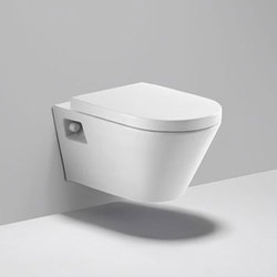 coco | dual flush - wall mounted elongated toilet | Toilets | Blu Bathworks