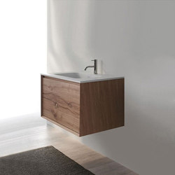 45º furniture | FULL • series 900 wall-mount vanity | Waschtischunterschränke | Blu Bathworks