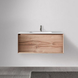 45º furniture | FULL • series 1200 wall-mount vanity | Waschtischunterschränke | Blu Bathworks